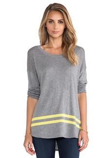 C&C California Intarsia Sweater in Gray