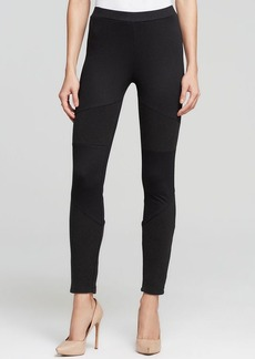 C&C California Leggings - Ottoman Ribbed Panel