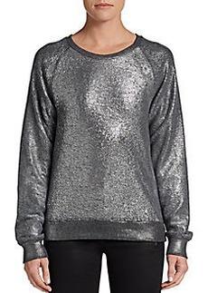 C&C California Metallic French Terry Sweater