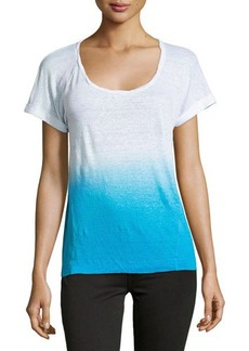 C&C California Ombre Rolled-Cuff Tee