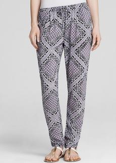 C&C California Pants - Bandana Printed Soft