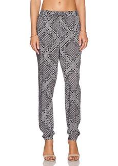 C&C California Printed Rayon Pant