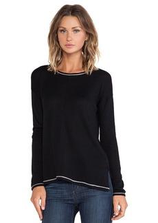 C&C California Side Slit Sweater in Black
