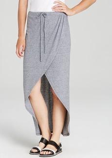 C&C California Skirt - Heather Grey Wrap