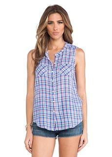 C&C California Sleeveless Shirt in Blue