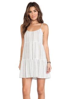 C&C California Stripe Cami Dress in Gray