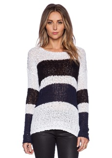 C&C California Stripe Cotton Tape Pullover
