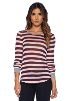 C&C California Stripe Long Sleeve Top
