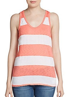 C&C California Striped Racerback Tank Top