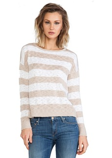 C&C California Striped Sweater in Beige
