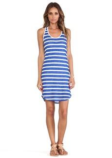 C&C California Striped Tank Dress in Blue
