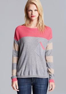 C&C California Sweater - Mesh and Stripe Mix