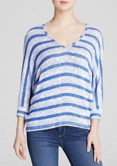 C&C California Sweater - Stripe Loose Knit