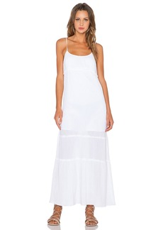 C&C California Tiered Maxi Dress