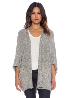 C&C California Tweed Drape Cardigan