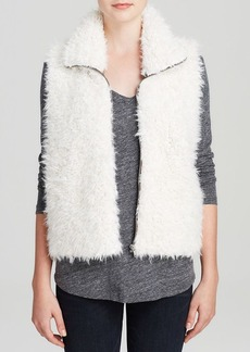 C&C California Vest - Faux Lamb Furry