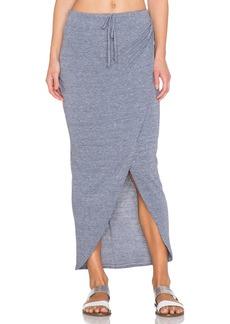 C&C California Wrap Maxi Skirt