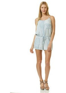 chambray surf wash romper