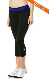 exceed solid capri with thick waist band