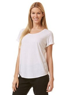 linen lace tee