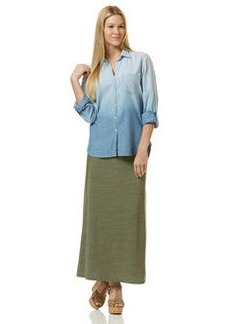 ombre chambray shirt