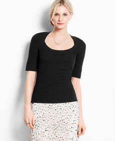 Polished Scoop Neck Sweater