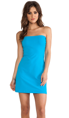 Susana Monaco Tube Dress in Blue