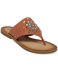 Lucky Brand Women's Breese Flat Thong Sandals