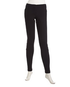 L.A.M.B. Neoprene Stirrup Pants, Black