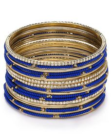ABS by Allen Schwartz Copacabana Bangles, Set of 20