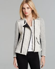 Rebecca Taylor Jacket - Tweed Combo