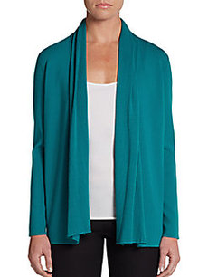 Lafayette 148 New York Shawl-Collar Cardigan