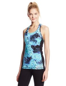 Marc New York Performance Women's Ruched Side Racerback Tank