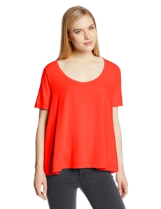 Three Dots Red Women's High/Low Top
