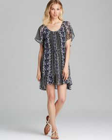 Ella Moss Dress - Meadow Floral