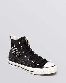 Converse Lace Up High Top Sneakers - All Star Multi Panel