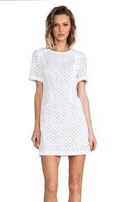 Trina Turk Marquise Dress in White