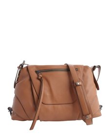 Kooba terra cotta leather crossbody 'Brielle' bag
