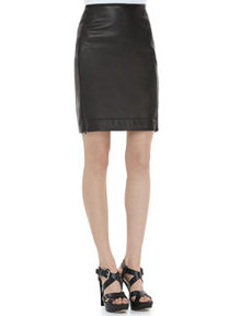 Rita Two Leather Skirt   Rita Two Leather Skirt