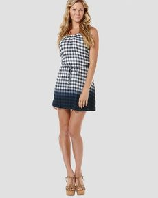 C&C California Dress - Dip Dye Gingham