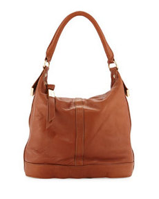 Foley + Corinna Medium Framed Bucket Bag, Whiskey
