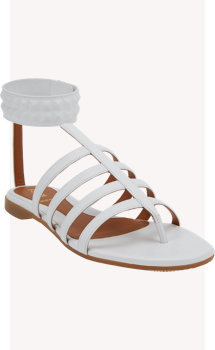 Fendi Diana Studded Gladiator Sandals