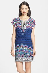 Laundry by Shelli Segal Print Shift Jersey Dress