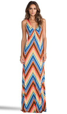 Trina Turk Verbana Dress in Orange