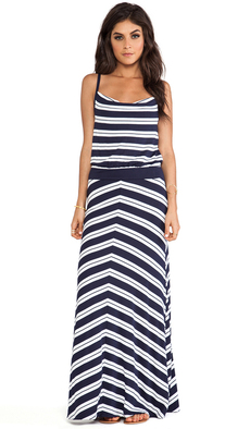Michael Stars Hope Sleeveless Maxi Dress in Navy