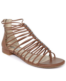 INC International Concepts Women's Avah Flat Gladiator Sandals