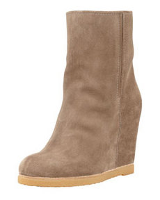 Bootscout Hidden-Wedge Bootie, Neutral   Bootscout Hidden-Wedge Bootie, Neutral