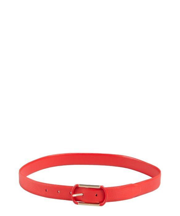 Calvin Klein ruby snake embossed reversible belt