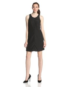Calvin Klein Jeans Women's Cut Out Darted Shift Dress