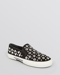 MICHAEL Michael Kors Slip On Sneakers - Boerum Studded